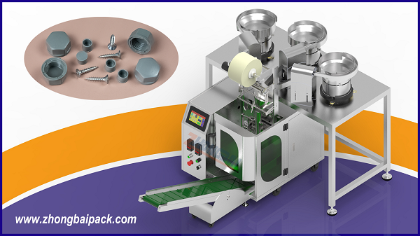 Screw and Plastic Cap  Counting Packing Machine