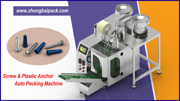 Screw and Plastic Anchor Mix Packing Machine