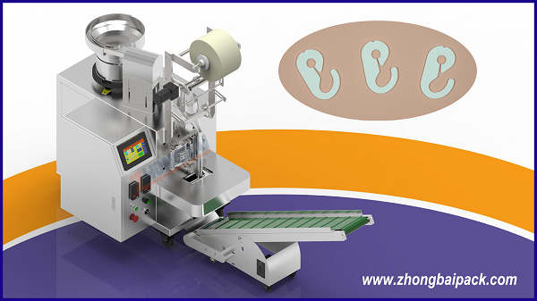 Plastic Hook Rings Counting Packing Machine